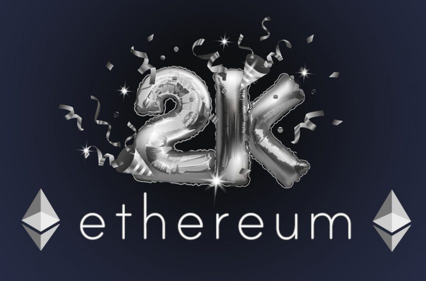 Ethereum (ETH) – Nouvel ATH enregistré au-dessus des 2000$