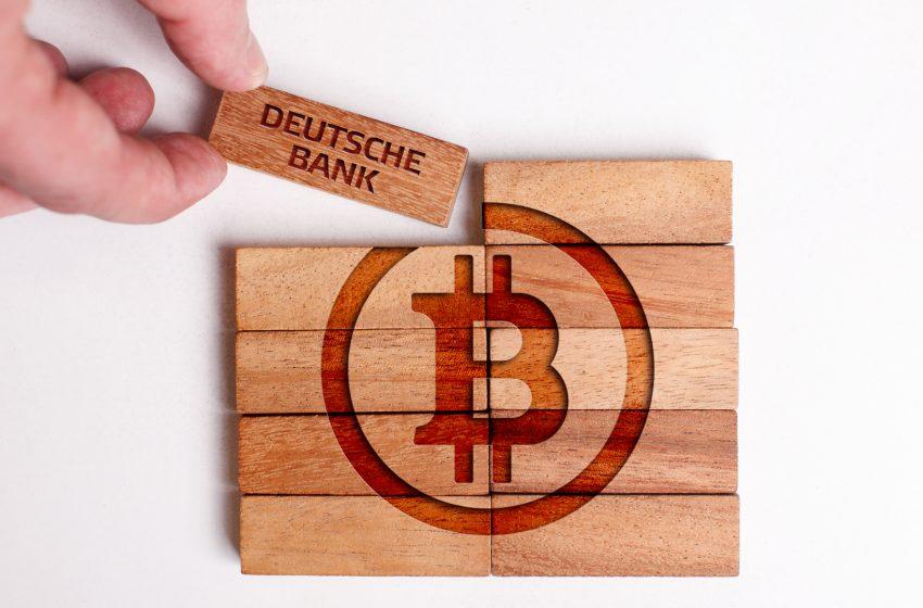 La Deutsche Bank déjà prête pour des services crypto