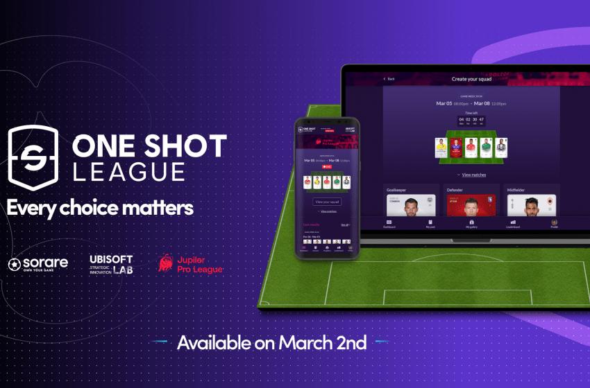 Jetons NFT – Ubisoft et Sorare lancent le jeu de foot One Shot League