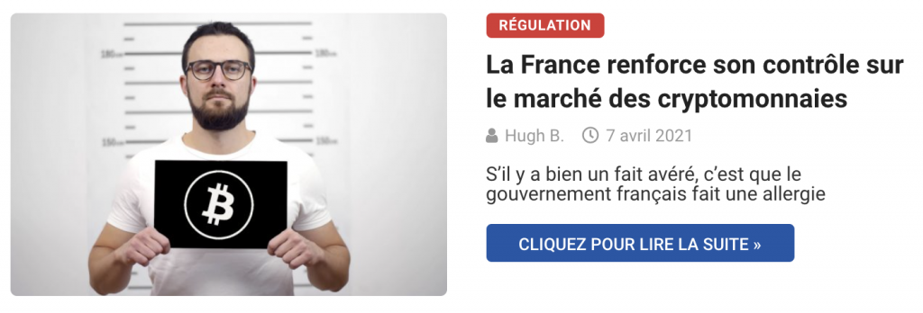 La France renforce son contrôle sur le marché des cryptomonnaies