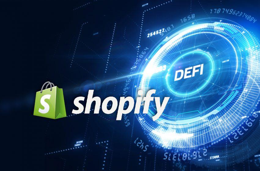 Le géant du e-commerce Shopify s'intéresse de près à la DeFi