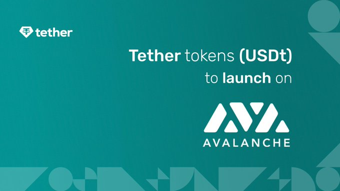 Tether (USDT) sur la blockchain Avalanche