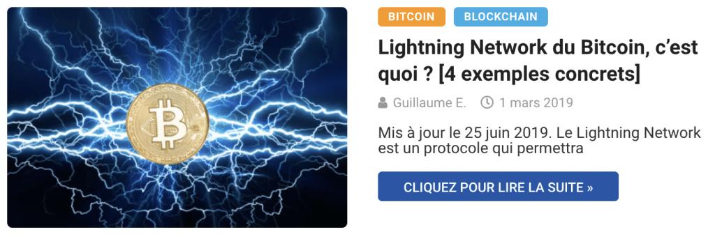 Lightning Network du Bitcoin, c'est quoi ? [4 exemples concrets]