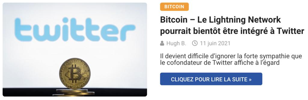 Bitcoin – Le Lightning Network pourrait bientôt être intégré à Twitter