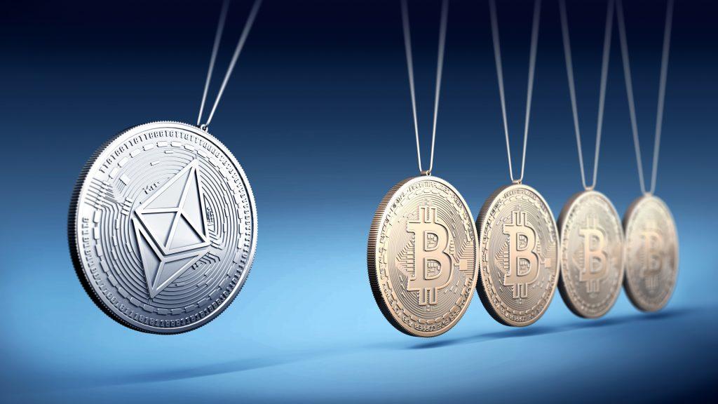 """Ethereum vs Bitcoin - Pourquoi le prix de l'ETH est-il plus """"solide"""" ?"""