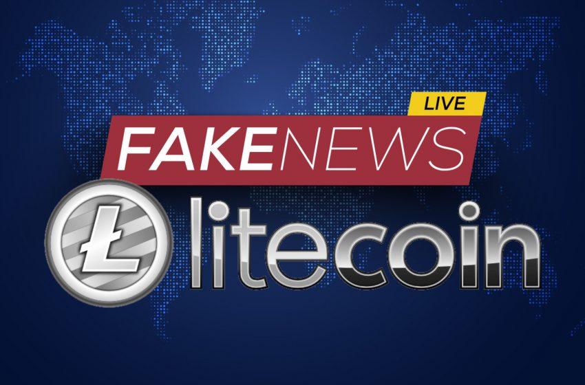 Sell the (fake) news – Le Litecoin a «vraiment foiré» dans cette affaire Walmart