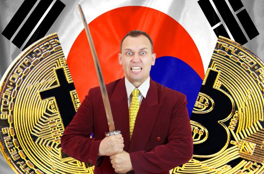 Couperet imminent pour les exchanges crypto en Corée du Sud