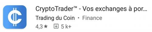 Application CryptoTrader™