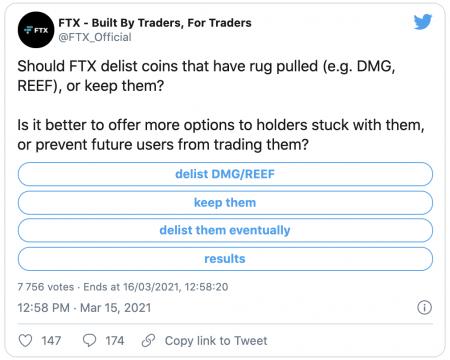 La plateforme FTX accuse le projet REEF de scam, son cours s'effondre