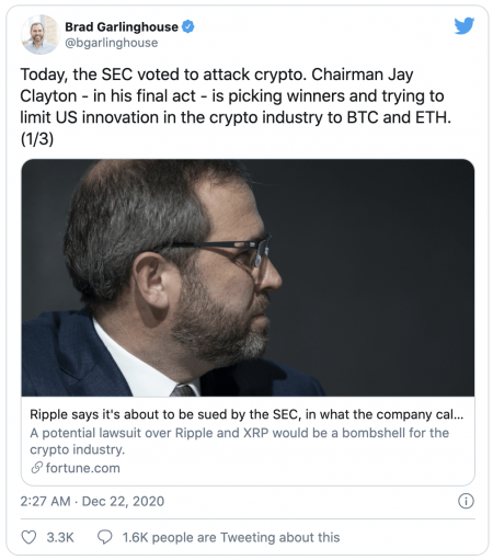 Ripple (XRP) s'oppose à la SEC