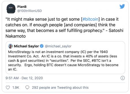La prophétie du Bitcoin par Satoshi Nakamoto