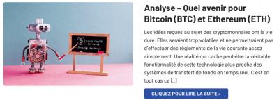 Avenir Bitcoin Ethereum