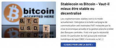 Bitcoin vs stablecoins