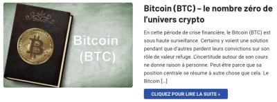 Bitcoin numéro zéro des cryptomonnaies