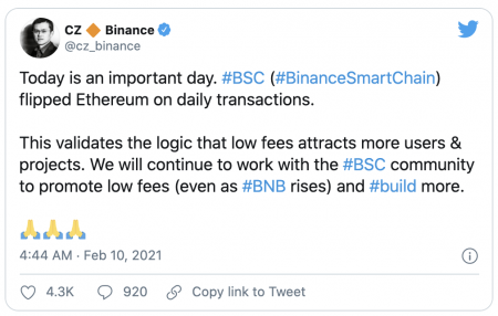 CZ Binance Smart Chain