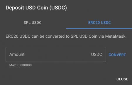 deposit-convert-usdc
