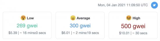 Les frais du réseau Ethereum explosent