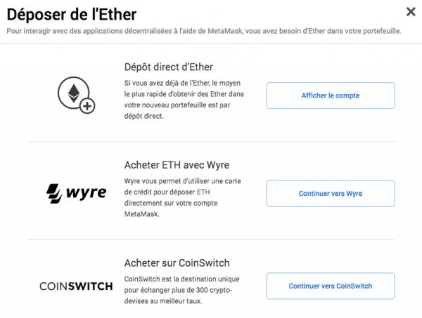 ethereum-metamask-importer
