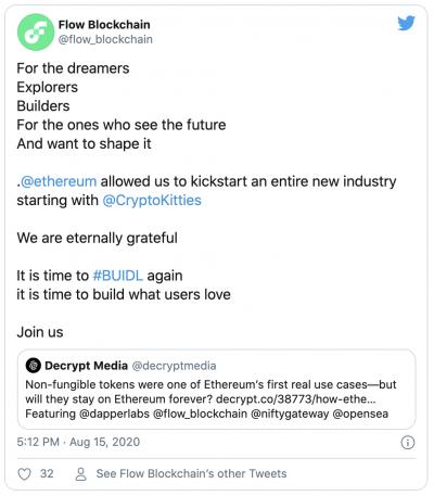 Dapper Labs lance la blockchain FLOW