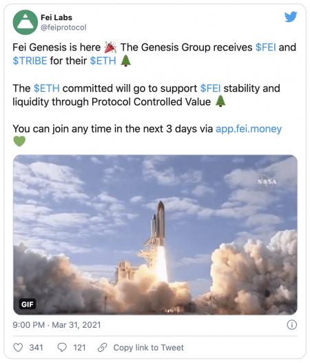 Stablecoin FEI - Entre lancement à succès et investisseurs bloqués