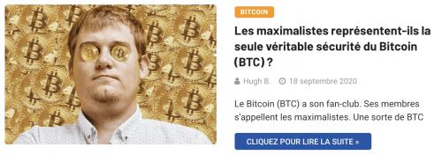 Les maximalistes et la sécurité du Bitcoin (BTC)