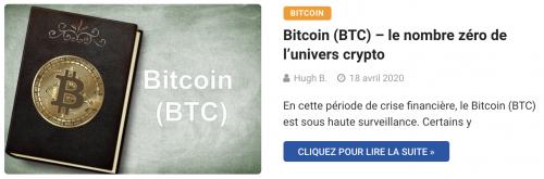 Bitcoin le nombre zéro des cryptomonnaies