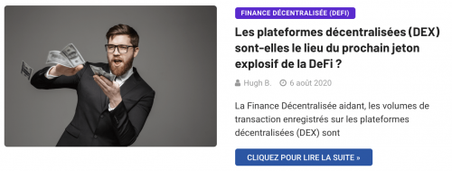 Trouver le prochain jeton explosif de la DeFis ur les plateformes décentralisées
