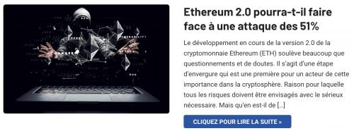 Ethereum 2.0 attaque des 51%