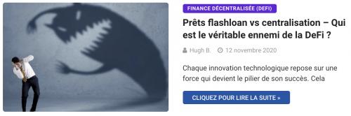 Attaques prêts flashloan vs centralisation – Qui est le véritable ennemi de la DeFi ?