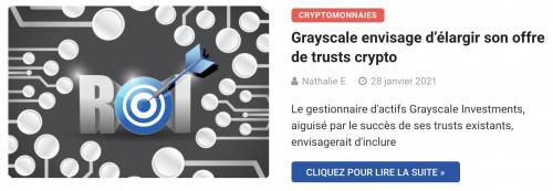 Grayscale envisage d'élargir son offre de trusts crypto