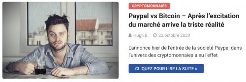 Paypal et cryptomonnaies vs frais élevés