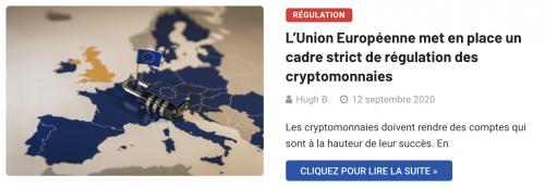 Union européenne et stablecoins