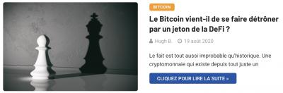 YFI vs Bitcoin