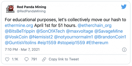 Les mineurs vont-ils mettre en danger le réseau Ethereum ?