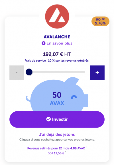 Staking Avalanche (AVAX)