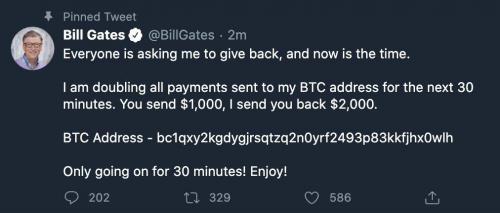 Attaque de Twitter Bitcoin Bill Gates